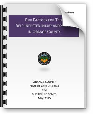 Risk Factors for Teen Self-Inflicted Injury and Suicide in Orange County