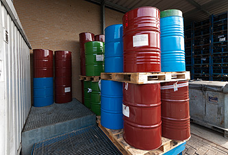 photo: chemical drums
