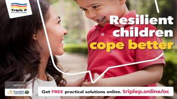 Resilient children cope better - triplep.online/oc